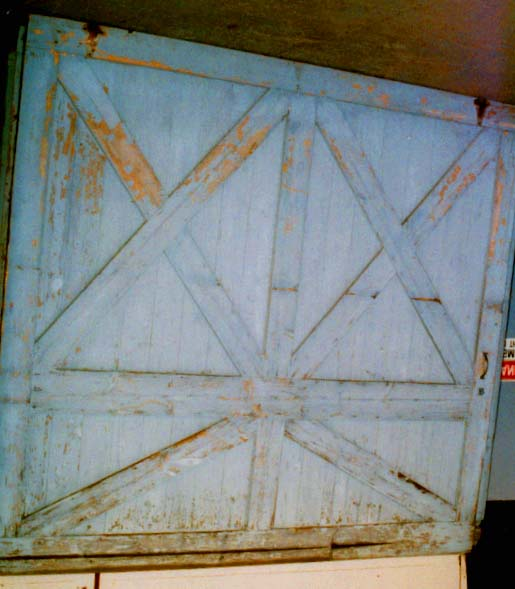 1870 Carriage barn doors