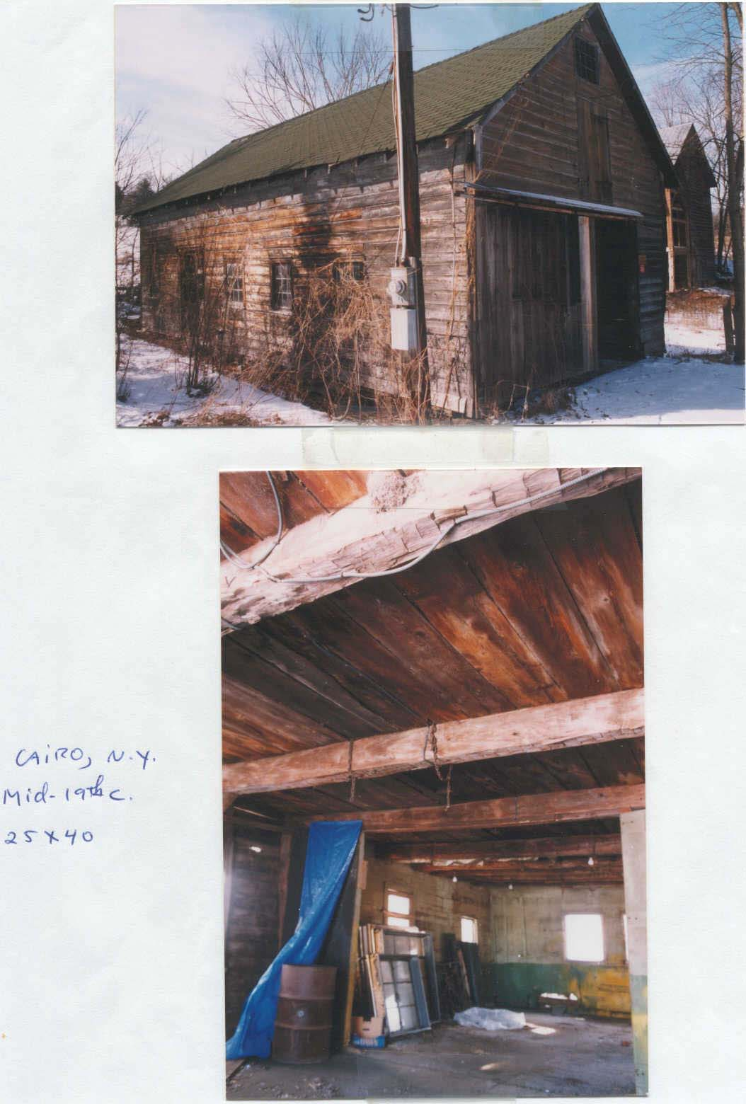 25-ft x 40-ft Catskill, NY 19th C. barn