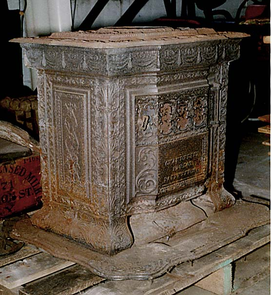 1853 parlor stove